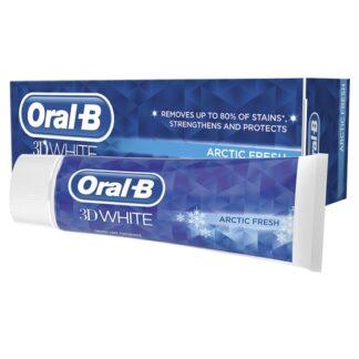 Oral-B 3D White Tandkräm Arctic Fresh 75 ml