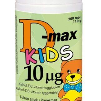 Vitabalans D-Max Kids 10 μg 200 tabletter