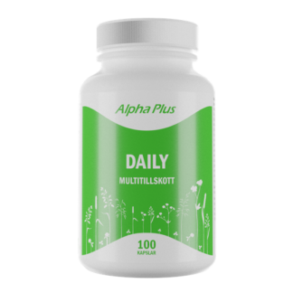 Alpha Plus Daily 100 kapslar