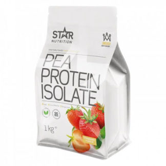 Star Nutrition Pea Protein Isolate 1kg - Strawberry