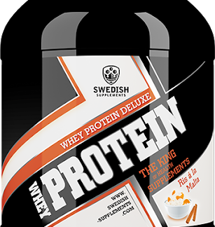 Swedish Supplements Whey Deluxe Protein 900g - Vanilla