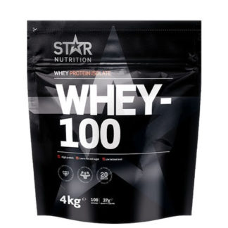 Star Nutrition Whey 100 4kg - Natural