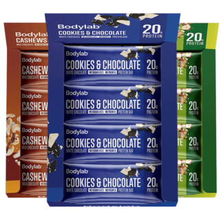 Bodylab Protein Bar 12-pack - Cookies & Chocolate